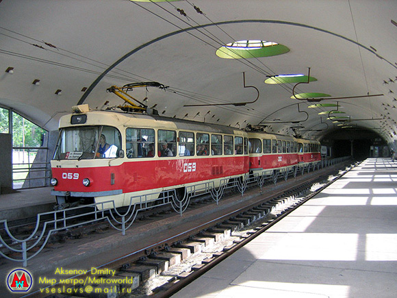 Скоростной трамвай Криврй Рог