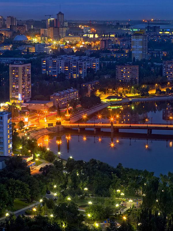 донецк фото города широкую