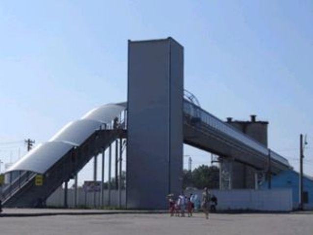 ЖД станция Люботин