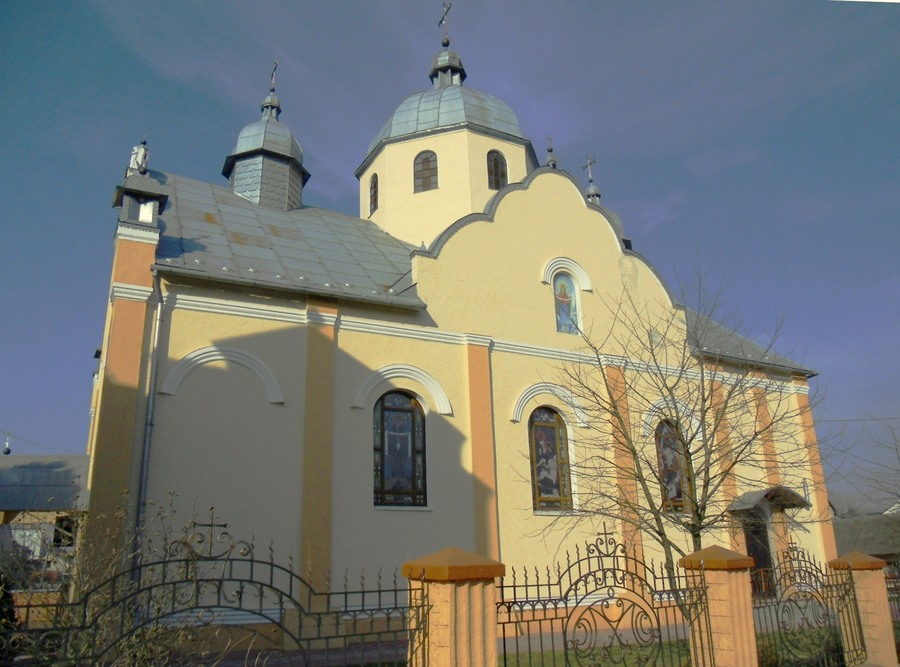 Church of the Nativity of the Blessed Virgin Mary. Rudky