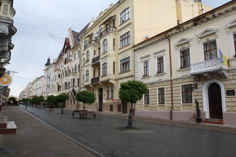 Вулиця Ольги Кобилянської